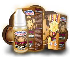 NUTTY BUDDY COOKIE - e-liquid American Stars 10ml
